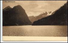 Brevkort Norge Norway ~1910/20 Fjord Fra Oldenvandet Berge Vintage Postcard