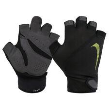 Nike Men's Elemental Mid-Weight Training Gloves Half Finger Fitness GYM Black