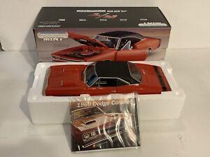 Ertl American Muscle Mint 1/18 1969 Dodge Coronet R/T 426 Hemi NEW In Box Red