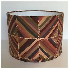 Vintage 70s Liberty Kasak Collier Campbell Fabric Drum Lamp Shade Light Shade