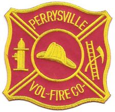 **PERRYSVILLE PENNSYLVANIA VOLUNTEER FIRE DEPARTMENT COMPANY FIRE PATCH**