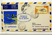 LUFTHANSA FIRST FLIGHT 1° VOL 1970 ALLEMAGNE AMERIQUE DU SUD    COVER F43