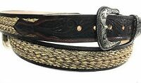 MENS WESTERN BELT. CINTO CHARRO. VAQUERO LEATHER BELT. COWBOY LEATHER BELT