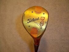 Titleist Laminated Maple #3 Wood Golf Club