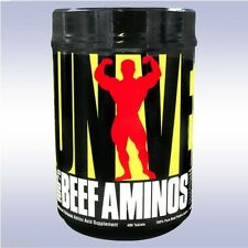 UNIVERSAL NUTRITION 100% BEEF AMINOS (400 TABLETS) amino acids protein isolate