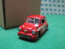 Vintage - FIAT 600 Abarth  1967    -  1/43   AR 15  Kit  Montato