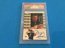 Chris Redman 2000 UD Graded Autograph Auto Rookie  PSA 10 Gem Mint