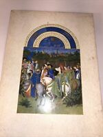 THE TRES RICHES HEURES OF JEAN DUKE OF BERRY  JEAN LONGNON  1969  W/ SLIPCASE