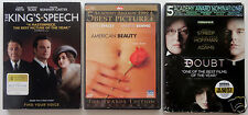 3 Drama Dvds: The King'S Speech, American Beauty, Doubt Colin Firth Meryl Streep