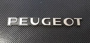 Peugeot Reproduction Silver Rear Badge suit 405 309 205 106