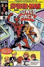SPIDERMAN & POWER PACK GIVEAWAY PROMO RARE CHILD ABUSE VARIANT WE CAN WE CARE
