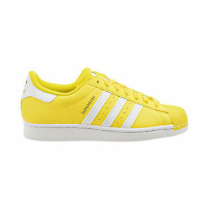 [GY5795] Adidas SUPERSTAR Low Top Men's Fashion Sneakers Yellow/Cloud White*NEW*