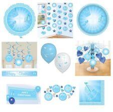 Art de la table de fête bleu pour la maison Baptême