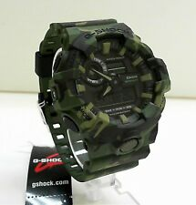 New Casio G-Shock Camouflage Big Case Ana Digi World Time Watch GA-700CM-3A