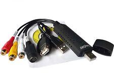 EasyCAP DC60 USB 2.0 TV DVD VHS RCA S-Video Video Audio AV Grabber Capture Card