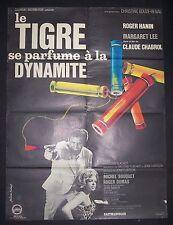 Le Tigre Se Parfume à La Dynamite, Roger Hanin, Margaret Lee,Dir: Claude Chabrol