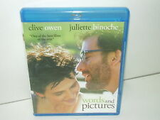 Words And Pictures (Blu-ray Canadian, Region A) Perfect Disc - Extras - No Tax