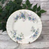 "Blue Blossom 6 1/4"" Bread & Butter Plate Royal Albert Fine Bone China England"