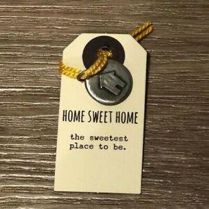 Kutuu Pewter Charm - Home Sweet Home