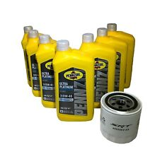 Pennzoil 0W40 Full Synthetic Oil Change With Performance Srt Oil Filter