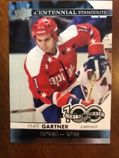 2017-18 UD Hockey Series 1 Centennial Standouts #CS-80 Mike Gartner