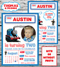 10 Personalised Thomas The Tank Engine Birthday Party Invites Invitations PHOTO