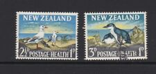 NEW ZEALAND 1964 Health USED SG 822/3 Birds Gull Penguin