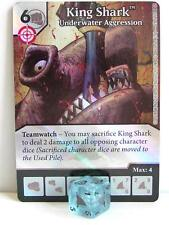 Dice Masters - #025 King Shark Underwater Aggression Foil - Green Arrow