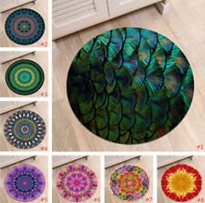 Abstract Mandala Kids Play Round Carpet Home Area Rug Living Room Floor Yoga Mat
