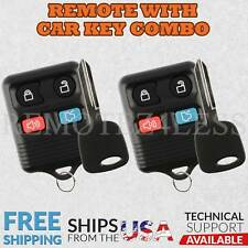 2 for 2001 2002 2003 2004 Ford Escape Keyless Entry Remote Fob Car Key