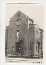 St Josephs Church Waltham Cross Vintage RP Postcard 283b