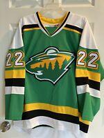 Minnesota Wild/North Stars Kevin Fiala NHL Concept Jersey (L)