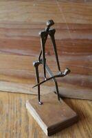Ornament Steampunk Beaky Plague Doctor Bust Figurine Brown 28x21cm