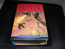 Harry Potter and the goblet of fire by J. K. Rowling Hardback Book Run 10
