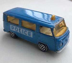Majorette France / Globe Toys - Rare VW Combi T2 Police