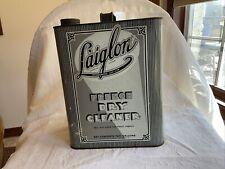 Vintage Laiglon L'aiglon Dry Cleaner Can Windsor Lloyd Product Art Deco Tin 1933