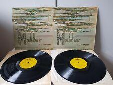 MAHLER SYMPHONY NO.3 SCHNEIDERHAN  LP DELTA TQD 3056/3057