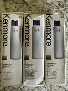 New Lot of 3 Kenmore 9081 Replacement Refrigerator Water Filter 46-9081