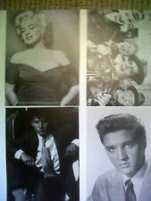 Marilyn Monroe Poster Elvis Postcard Lot James Dean Lucy Bruce Rare Press Sheet
