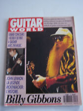 MAGAZINE GUITARE WORLD N° 17 , BILLY GIBBONS . BON ETAT .