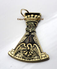 ZP379 Freemason Jewel Pendant Masonic Holy Knight Sepulchre Templar Cross Crown