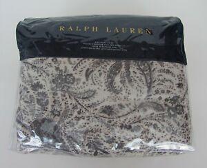 RALPH LAUREN Gwendolyn KING Duvet Cover Cotton NEW