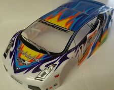 1/10 RC car 190mm on road drift Lamborghini Gallardo Sports Body Shell Blue