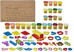 Playdoh Ultra Fun Factory Bundle Multipack 47 Piece Set Ages 3+ Toy Play-doh