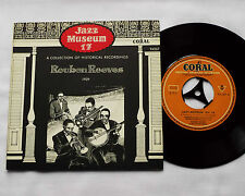 "Reuben REEVES 1929 - GERMANY 7"" EP Jazz Museum 17 - CORAL 94267 - MINT/NMINT"