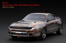 1:43 HPI DIECAST #8178 - Toyota Celica Turbo 4WD (Metal Polish Model)