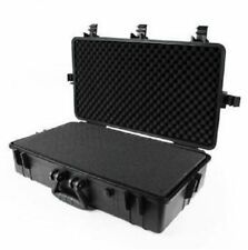 "28"" 5-Latch Black Tactical Weatherproof Equipment Case"