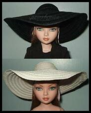 SAVE 25% on 2 Wide Brim Picture HATS Black & White fit ELLOWYNe WILDE