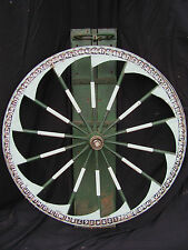 Antique Western Style Carnival Game Wheel of Chance