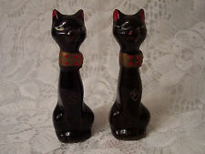 Vintage Siamese Cat Salt and Pepper Shakers - Japan